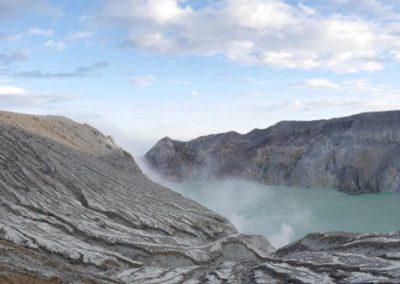 Le volcan Kawah Ijen
